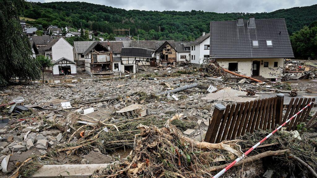 Las devastadoras inundaciones no dan tregua en Alemania