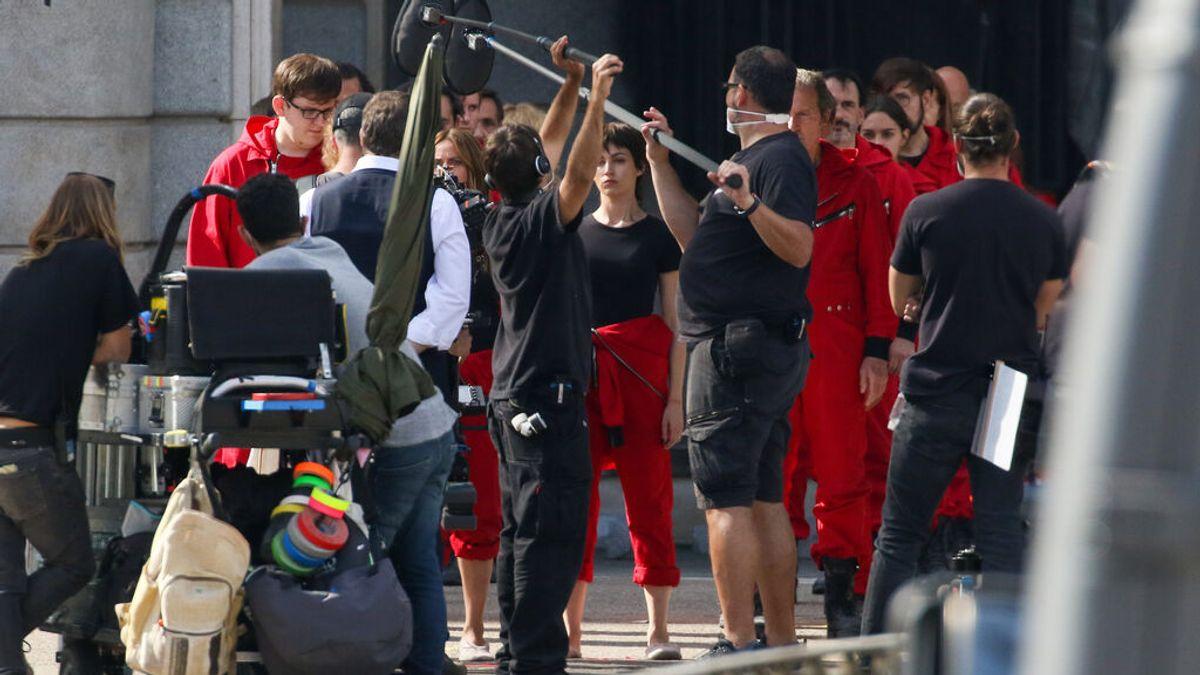 La pandemia coloca a Madrid en el mayor 'plató' de series y películas en España