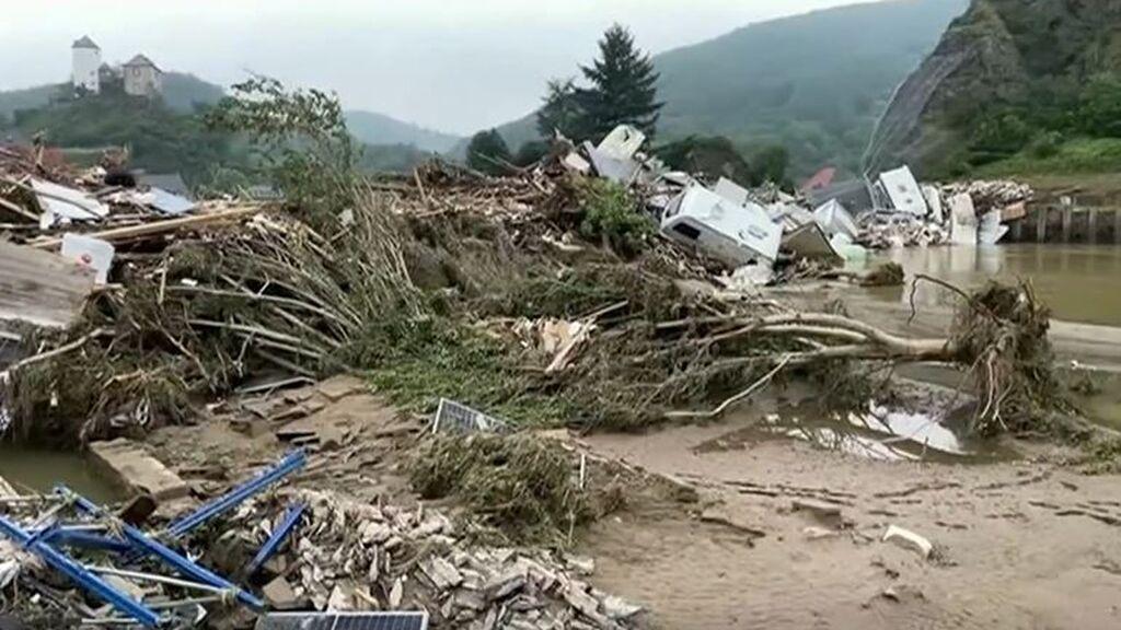 Aumenta la cifra de fallecidos por las inundaciones en Alemania y Bélgica: 160 personas han perdido la vida