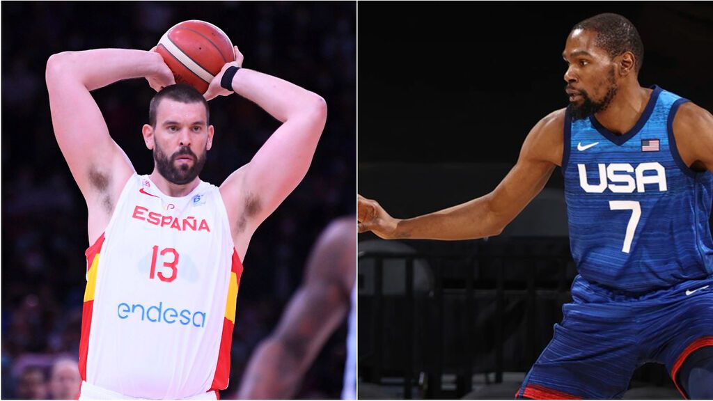 Estados Unidos - España: la Selección se enfrentan a los favoritos en un amistoso previo a los JJOO el lunes a las 3:00h de la madrugada en Cuatro y mitele.es