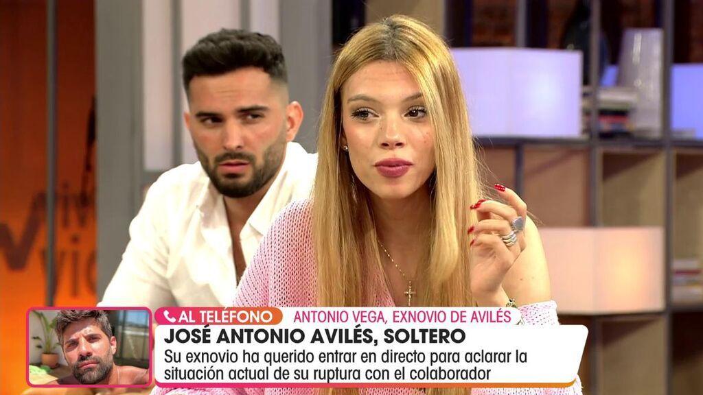 La llamada del exnovio de José Antonio Avilés a 'Viva la vida'