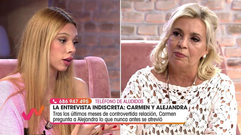 La entrevista de Carmen borrego a Alejandra Rubio