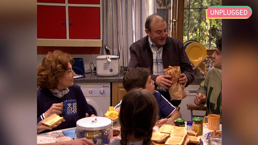 Los desayunos de 'Los Serrano'