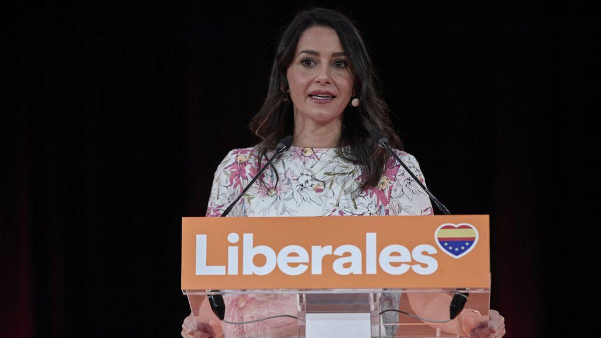 """Arrimadas reafirma su """"convicción"""" en Ciudadanos y apela a los votantes del PSOE y del PP"""