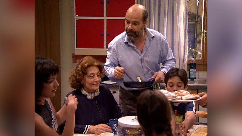 El primer y el último desayuno de 'Los Serrano'