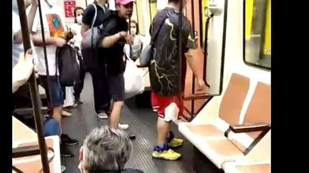 Agresión a un sanitario en el metro de Madrid