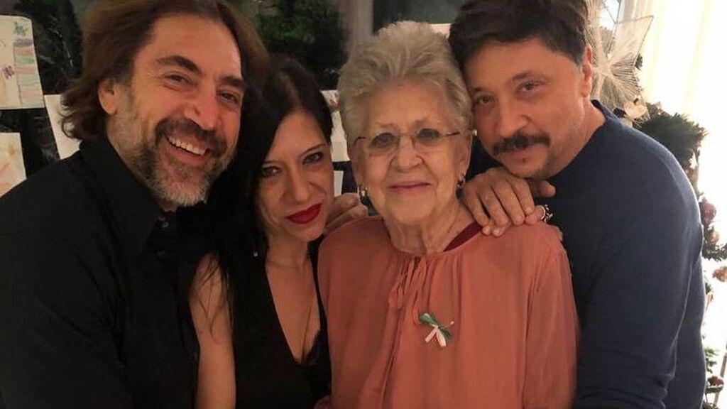 Muere Pilar Bardem: Javier, Carlos y Mónica, su mayor legado