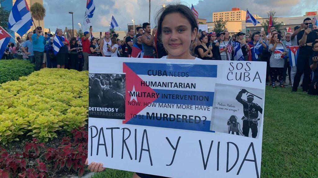 """""""Patria y vida"""": la canción que los cubanos artistas y activistas en Miami han convertido en un himno contra la dictadura de Cuba"""