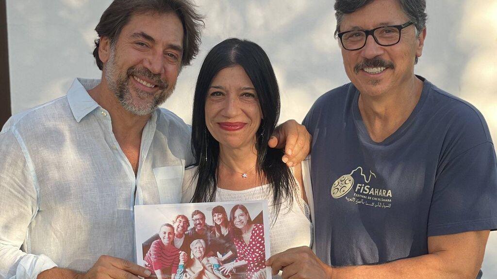 """La foto de la despedida de los Bardem a su madre: """"Con el corazón lleno de amor y una sonrisa en la boca"""""""