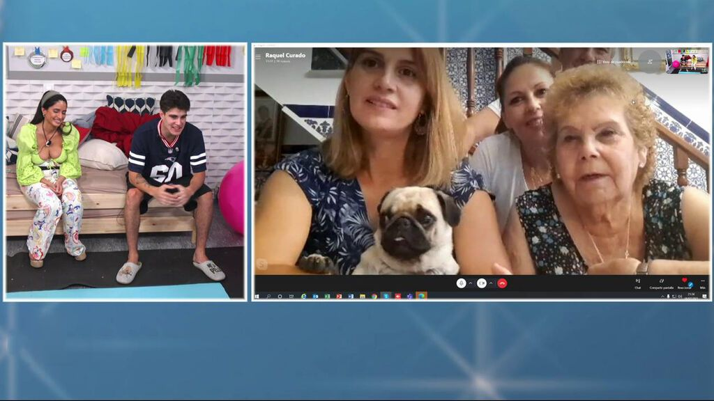 Videollamada con la familia de Julen