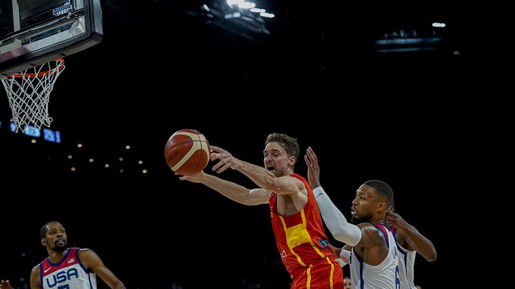 España cae ante Estados Unidos pero deja grandes sensaciones antes del debut en Tokio