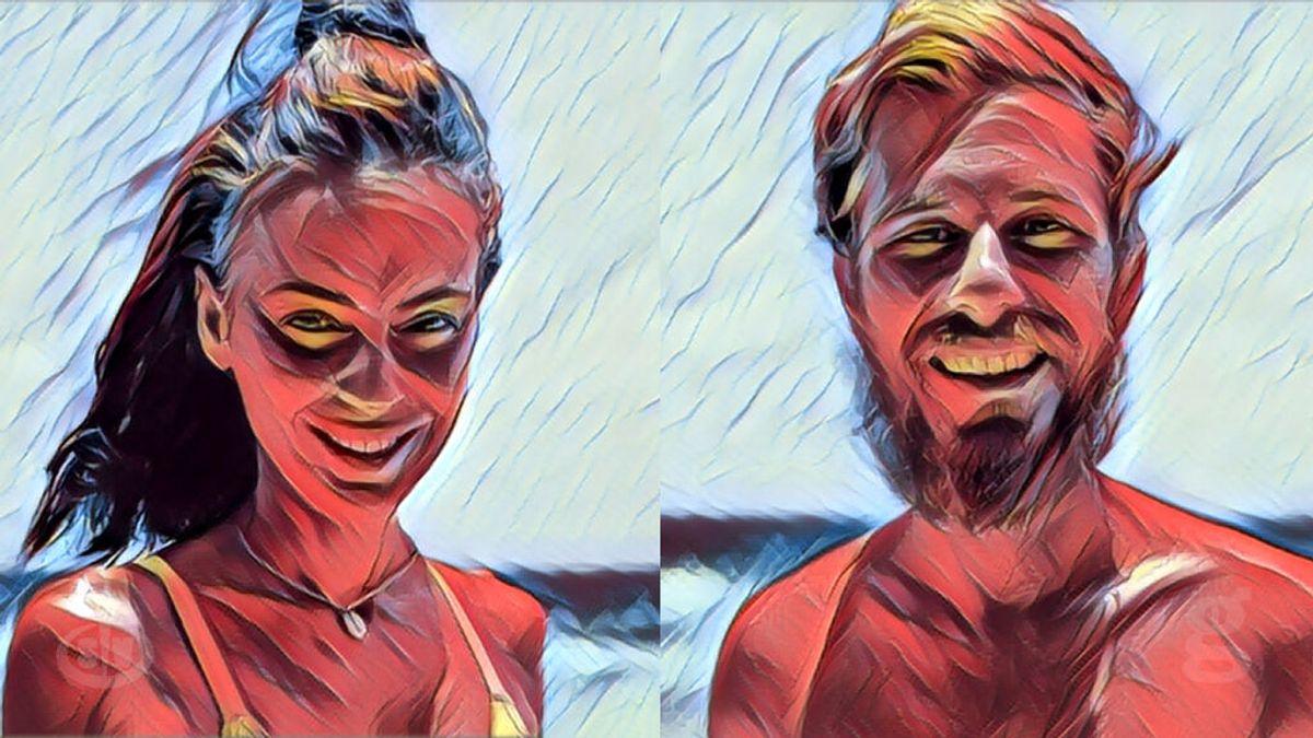Daguerrotipos de Olga y Tom