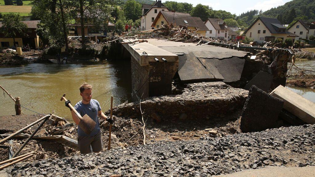 La cifra de muertos en las inundaciones en Alemania supera los 160