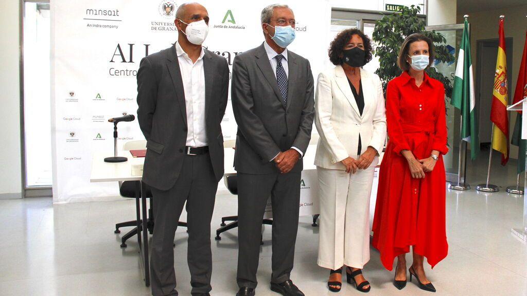 Indra, Google y la Universidad de Granada crean uno de los centros de inteligencia artificial más avanzados de Europa