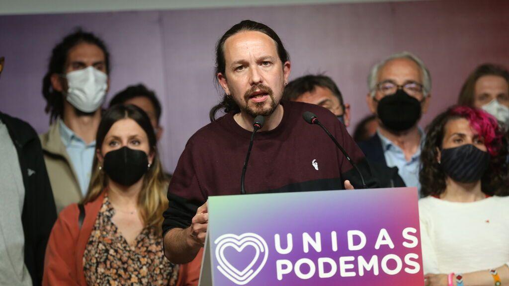 Iglesias rompe su silencio presumiendo de que logró que el PSOE no se aliase con la derecha