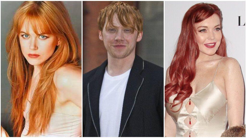 La lista de los pelirrojos y pelirrojas más famosos que triunfan en nuestras pantallas: desde Nicole Kidman a Lindsay Lohan.