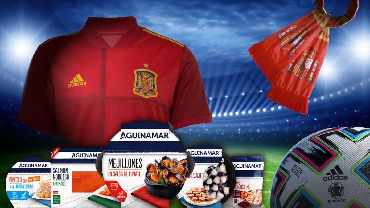 Ya tenemos al ganador del concurso que se llevará a su casa un lote de productos Aguinamar® y un conjunto de la selección española