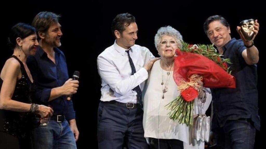 El cine le hizo un homenaje sorpresa a Pilar Bardem en 2017