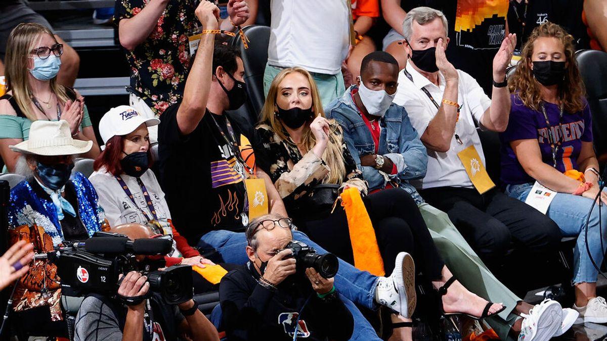 Se disparan los rumores de romance entre Adele y Rich Paul