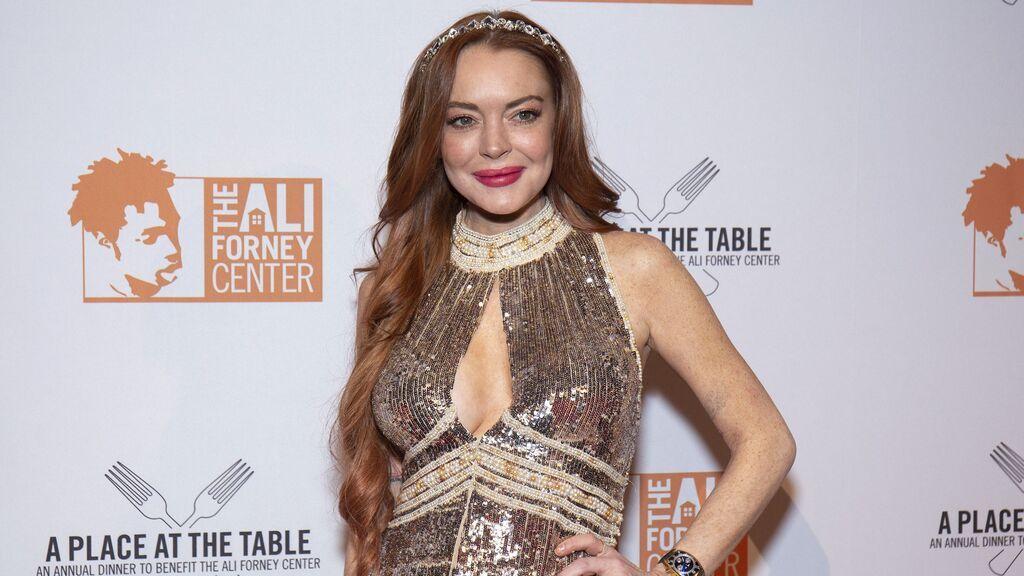 Lindsay Lohan también ha destacado por su pelo rojo.