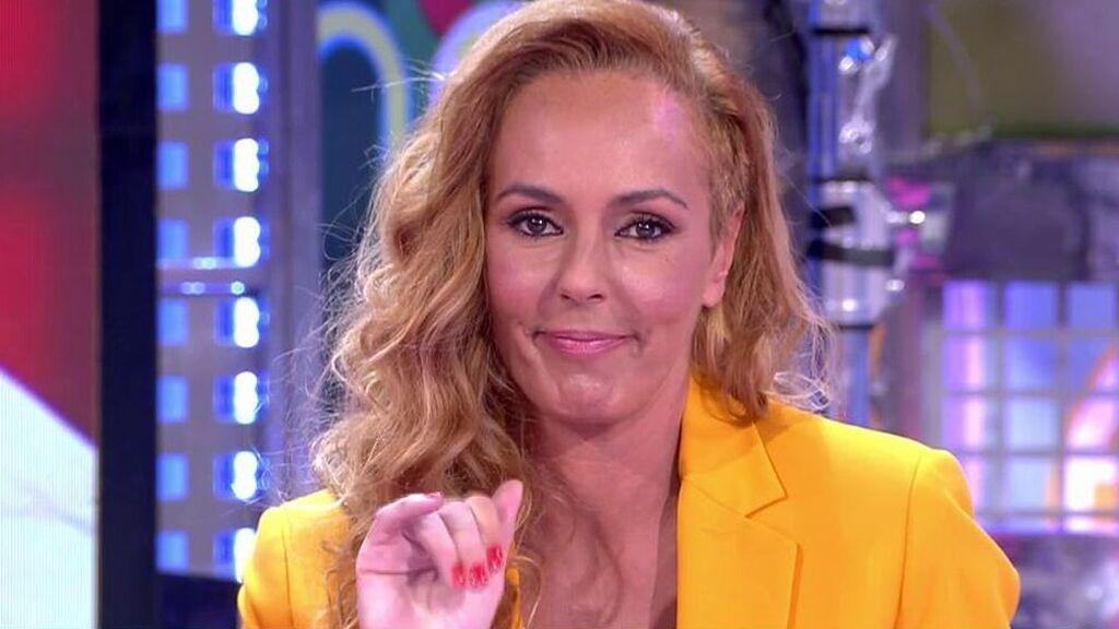 Rocío Carrasco, en 'Sálvame', respondiendo a Amador Mohedano