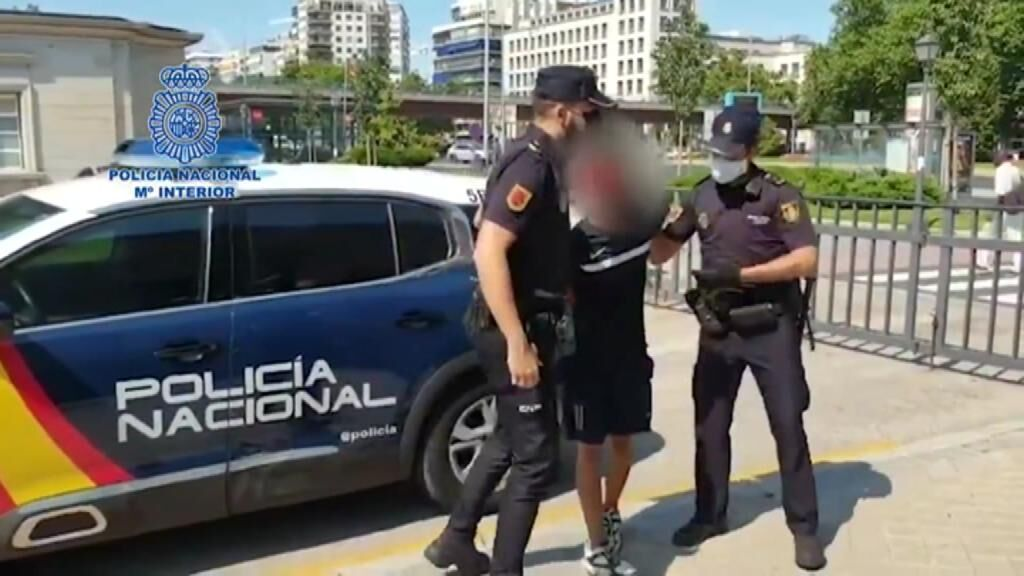Detenido el joven que agredió a un enfermero en el Metro de Madrid