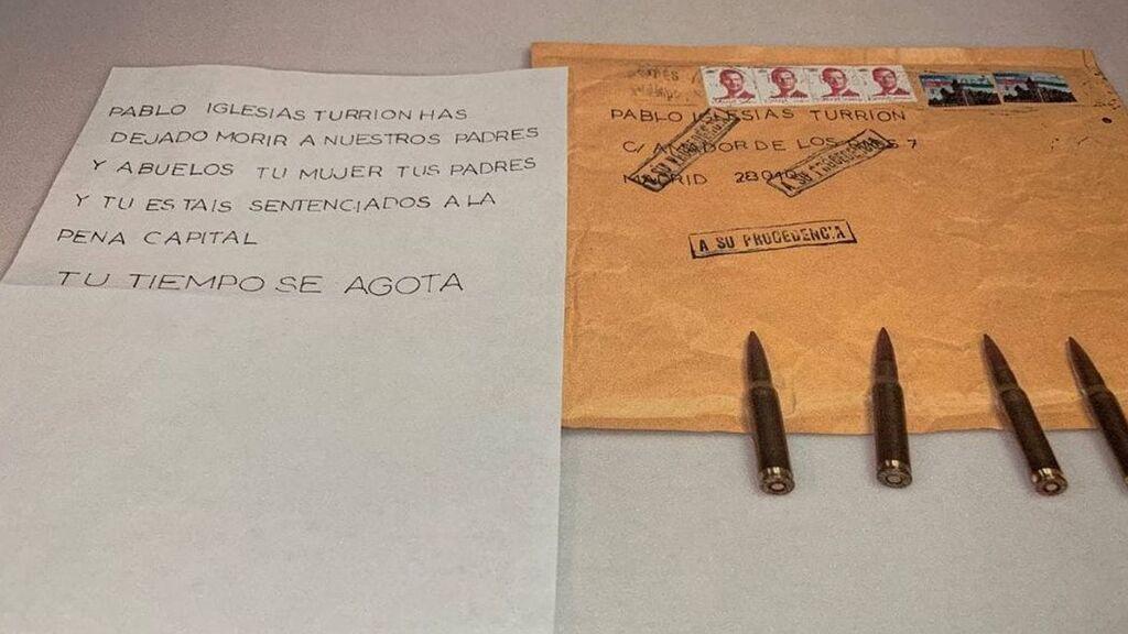 Carpetazo a las investigaciones sobre el envio de balas a Iglesias, Marlaska y Gámez al no identificar al responsable