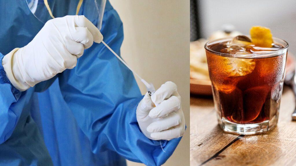 Los adolescentes británicos están usando refrescos y zumo de naranja para falsificar test de coronavirus positivos