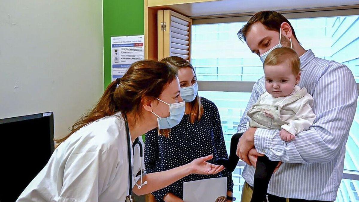 Irene, la bebé trasplantada que ha recibido un tratamiento único en el mundo para que no rechace su corazón
