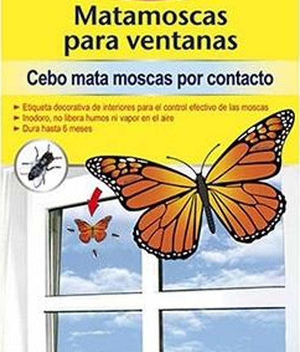 matamoscas mariposa