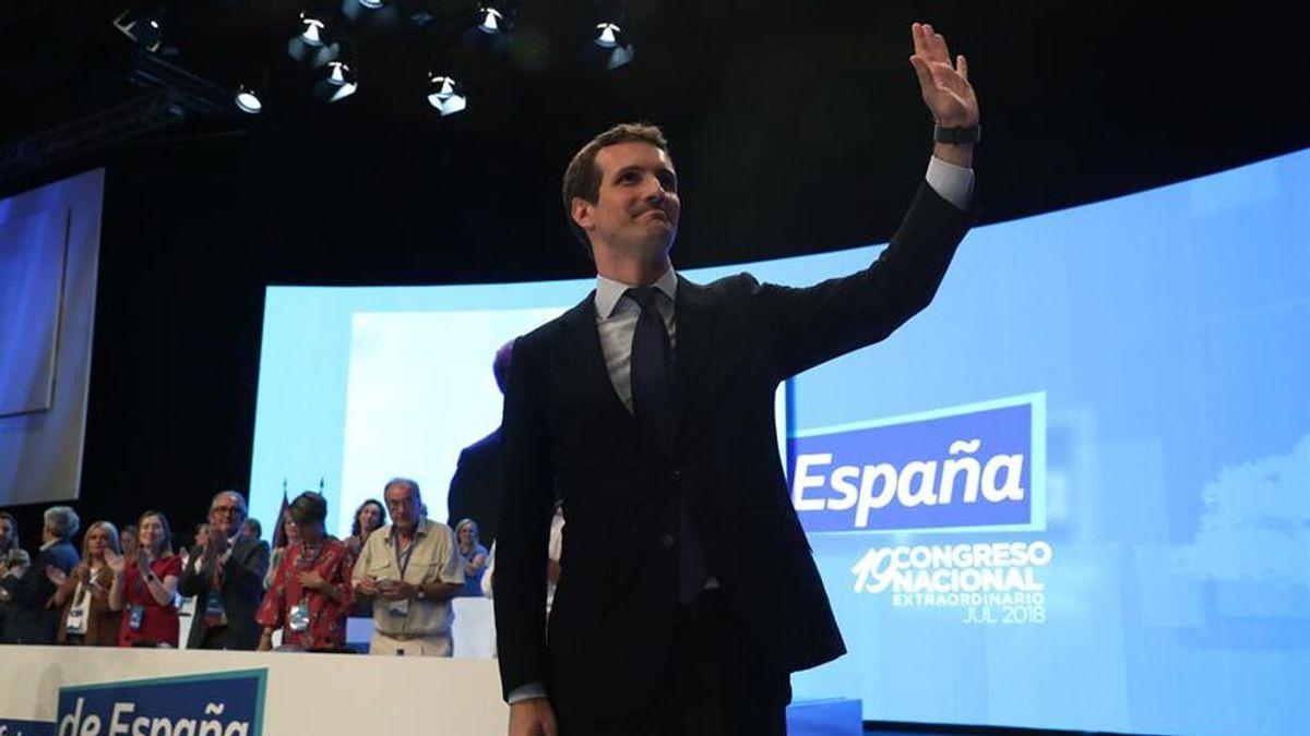 Casado a por el votante de Vox sin perder el centro, en su tercer año como presidente del PP