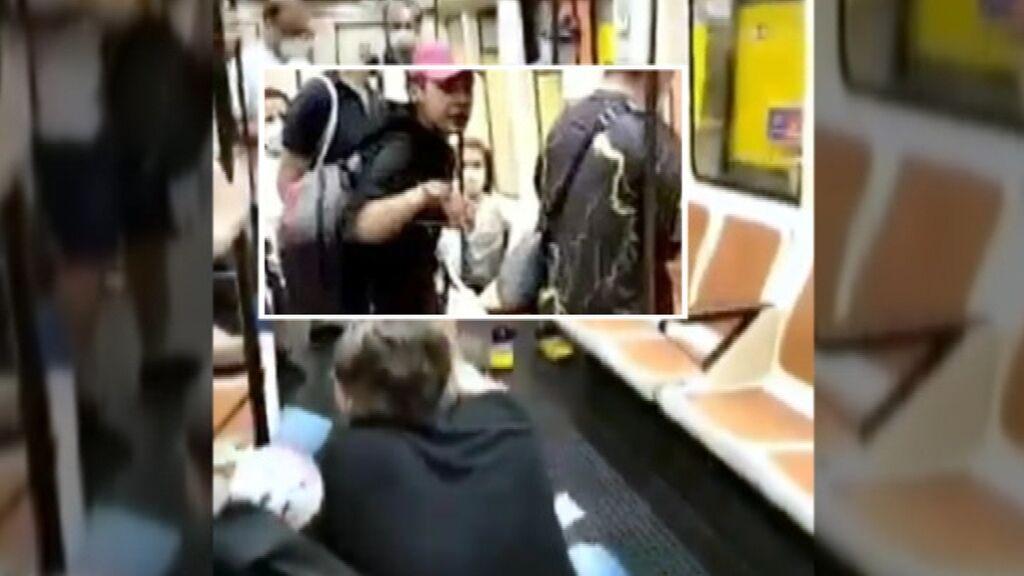 Un joven agrede a un enfermero en el Metro de Madrid