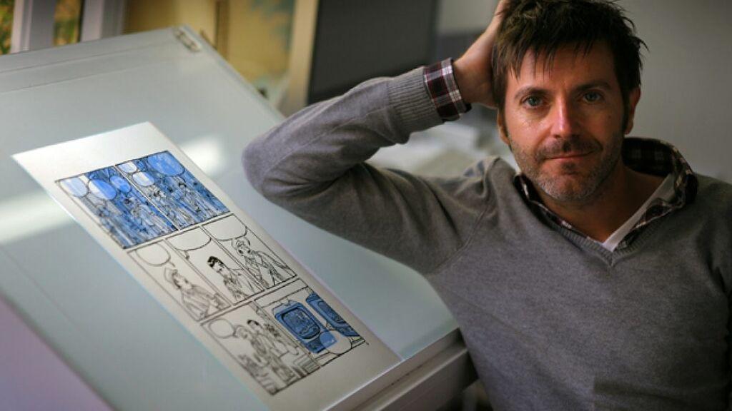 Paco Roca, a por doblete en los premios Harvey y Eisner de cómic con 'El invierno del dibujante'