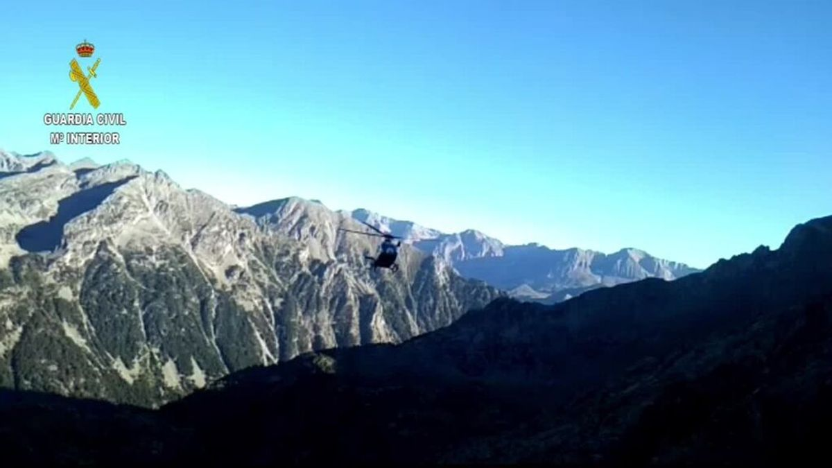 Un escalador muerto  y otro herido grave al desprenderse una roca en el Pirineo Aragonés