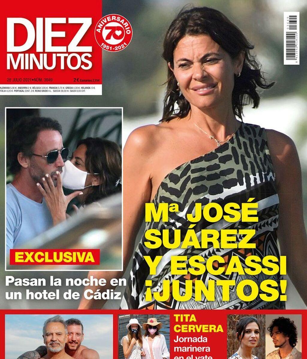 Las esperadas fotos de Escassi y María José Suárez