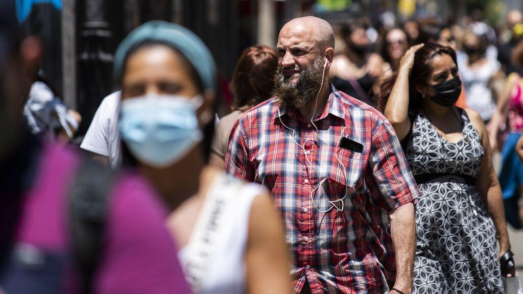 El fin de la mascarilla en exteriores llega hoy al Congreso
