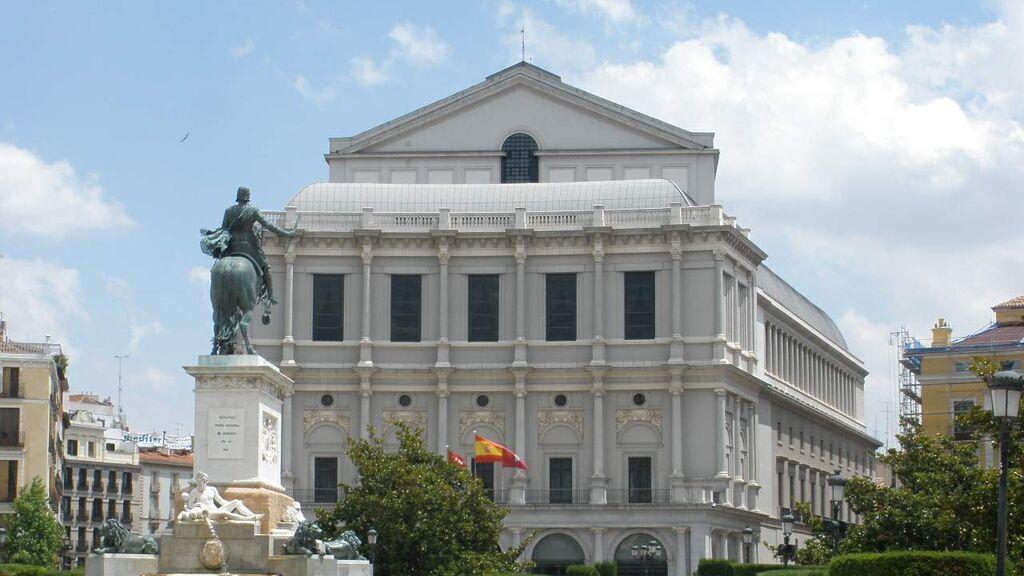 El Teatro Real, en Madrid.
