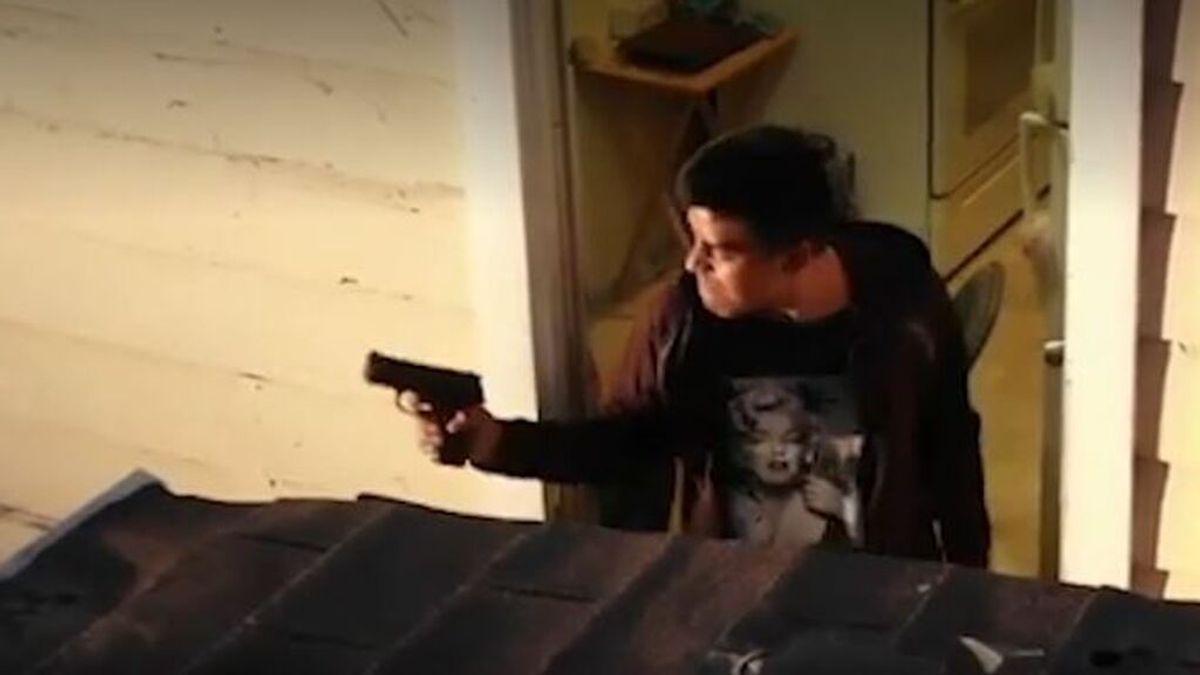 Un dron graba cómo la Policía mata a un joven de 19 años armado con una pistola de aire comprimido