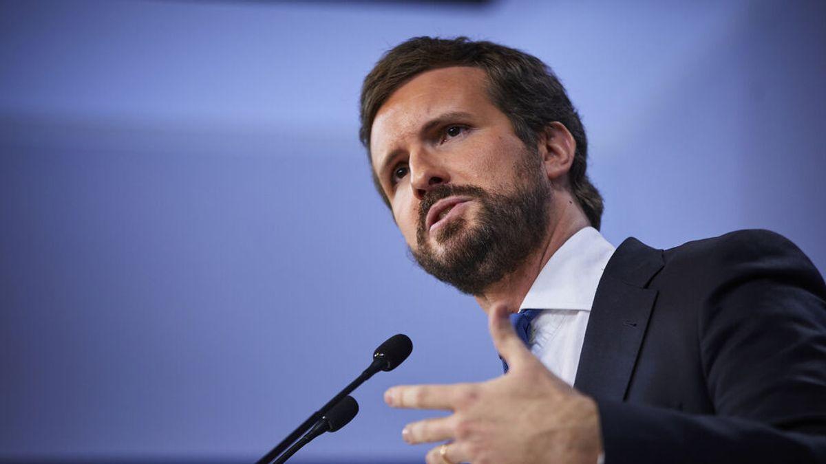 En directo: Pablo Casado interviene ante la Junta Directiva del PP
