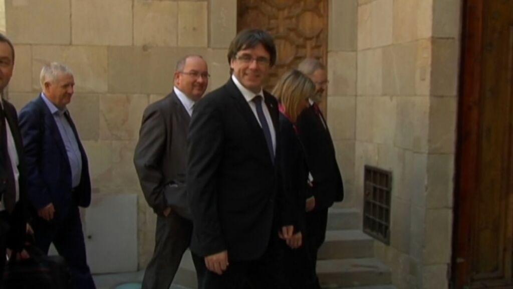 Los independentistas tendrán que pagar la fianza de cinco millones de euros con sus bienes