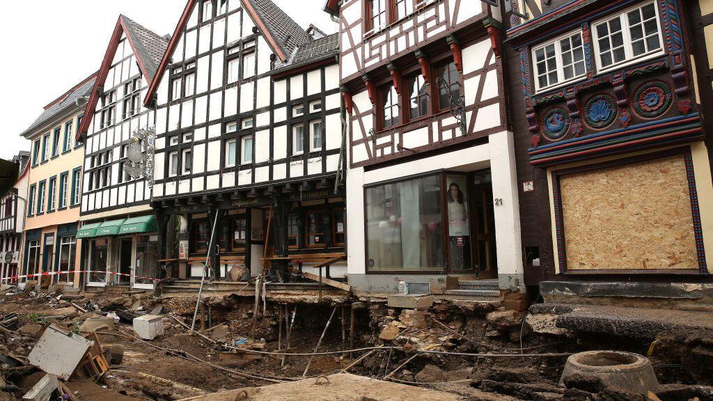 Alemania, devastada por las inundaciones, espera las ayudas del Gobierno