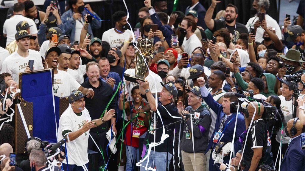 Los Milwaukee Bucks, campeones de la NBA: ganan el anillo 50 años después