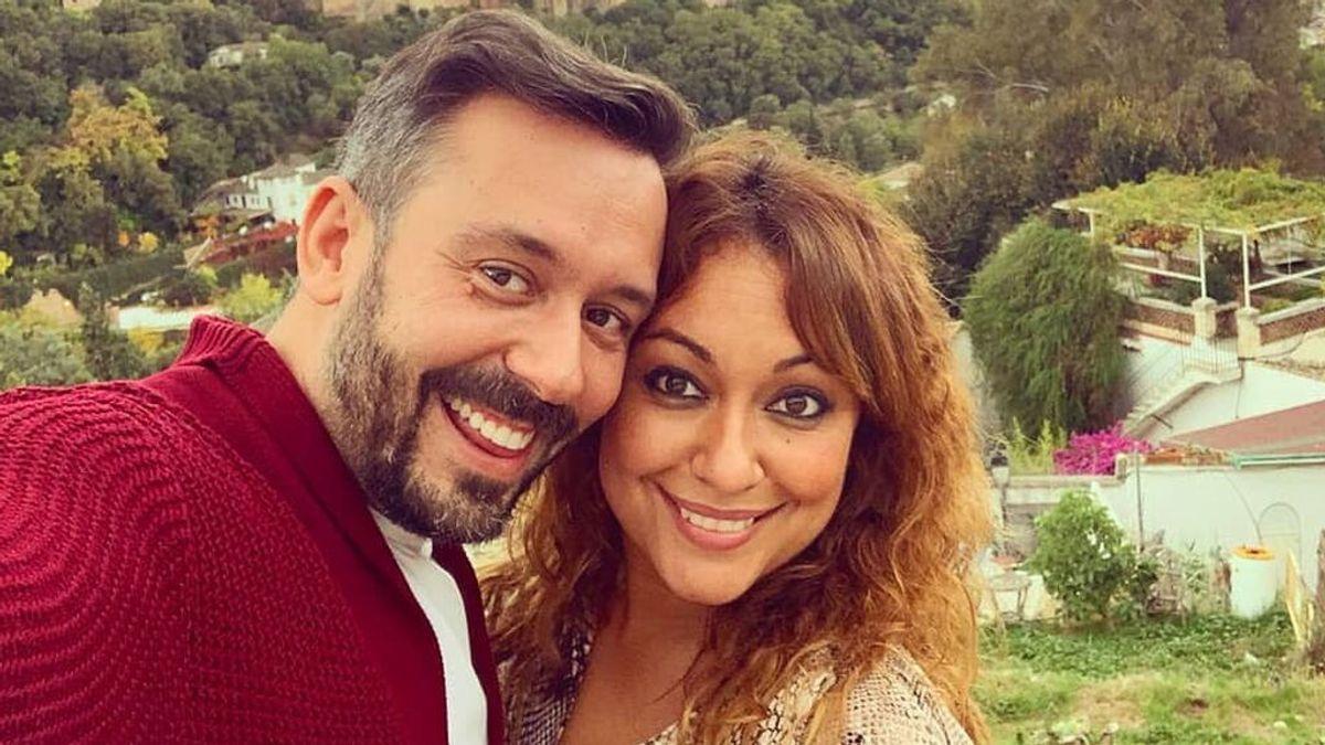 Raquel Abad y Kike Calleja, felizmente enamorados