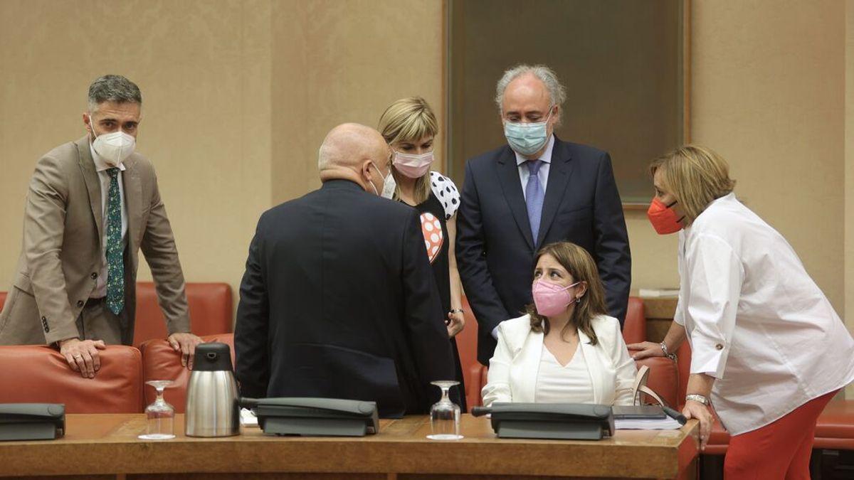 Diputados del PSOE en la Diputación Permanente del Congreso
