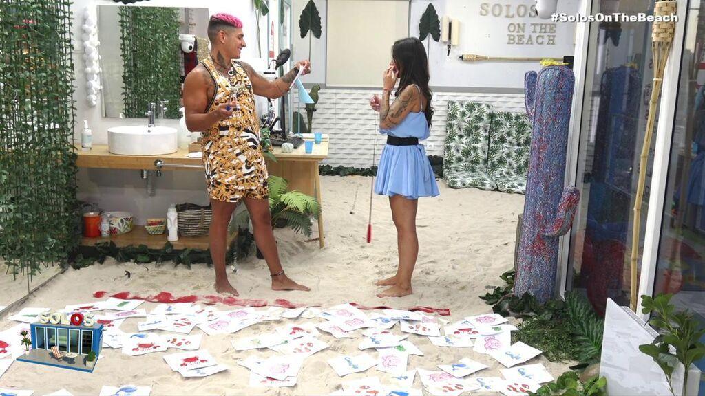 La agenda de Fiama y Ferre para hoy en 'Solos on the beach'