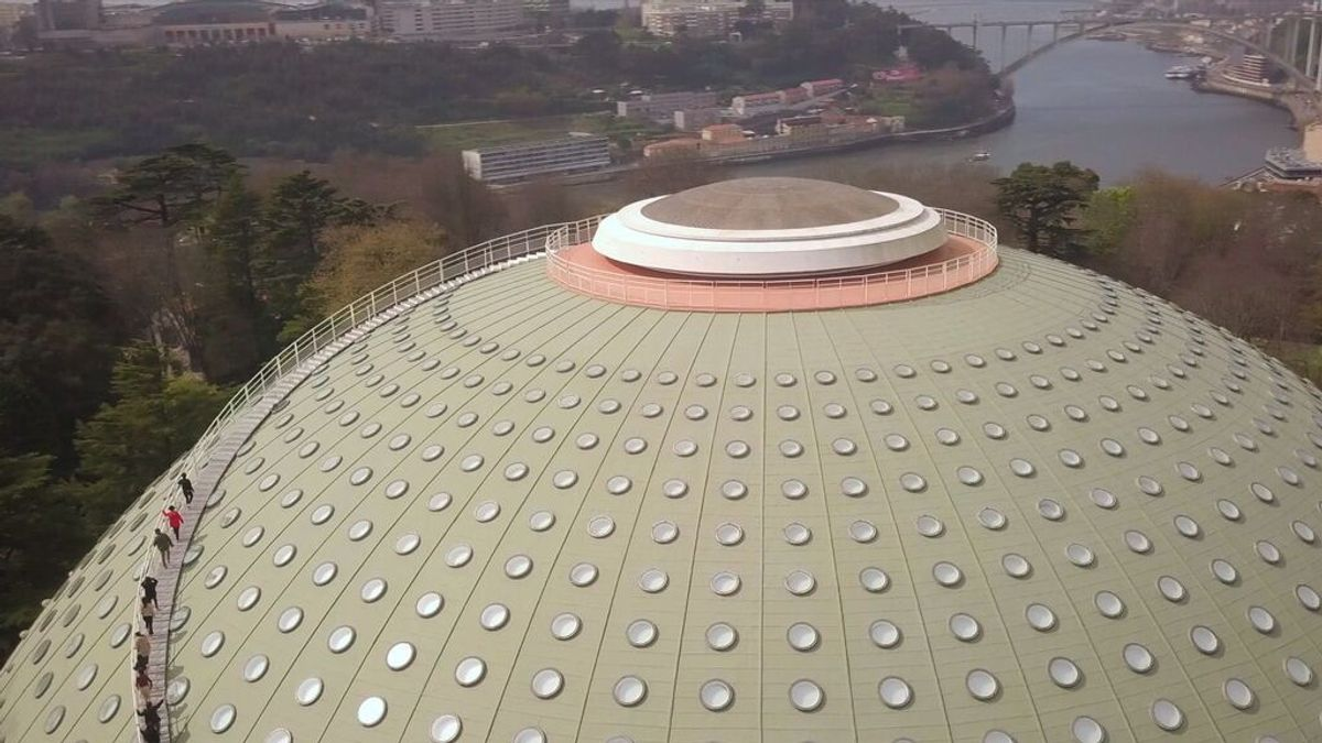 Oporto estrena nuevo mirador 360º para contemplar la ciudad desde el Pavilhão Rosa Mota