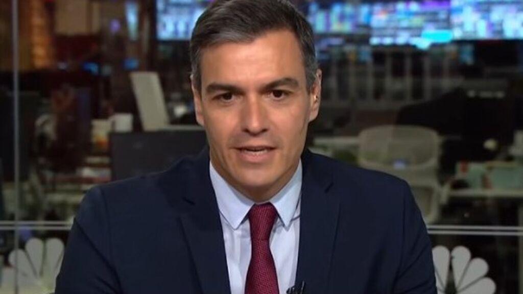Pedro Sánche, en 'Morning Joe'
