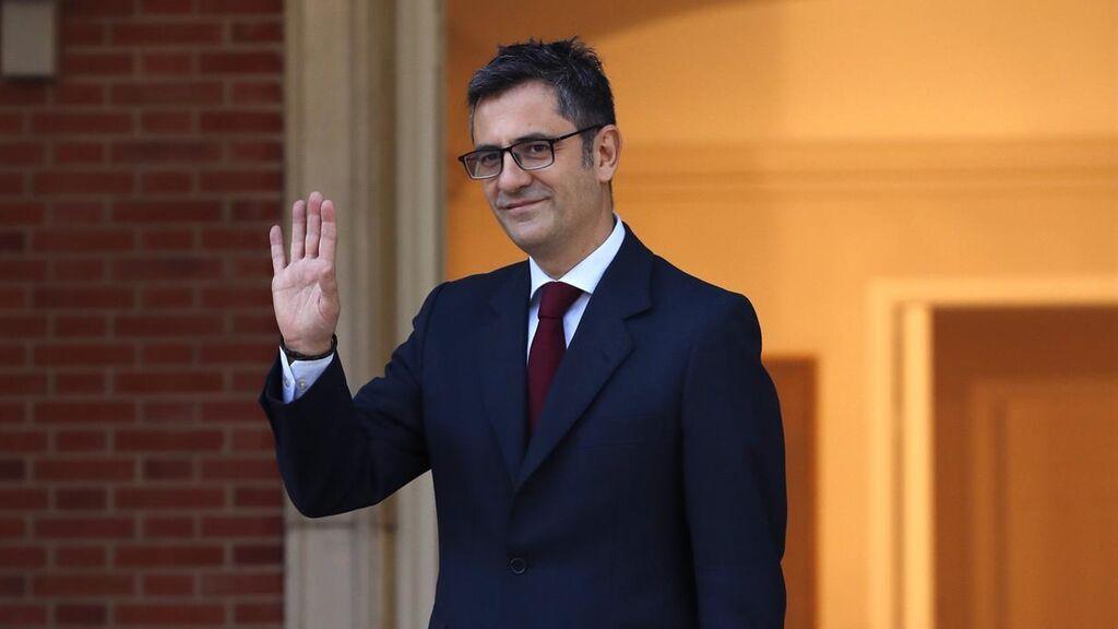 Bolaños constata la dificultad de llegar a un acuerdo con el PP sobre el Poder Judicial