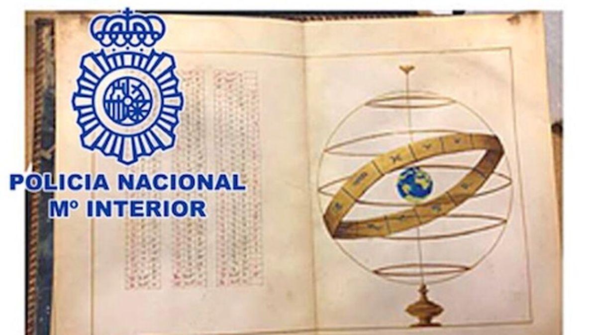 Recuperan el 'Atlas Portulano', un manuscrito del siglo XVI valorado en dos millones de euros