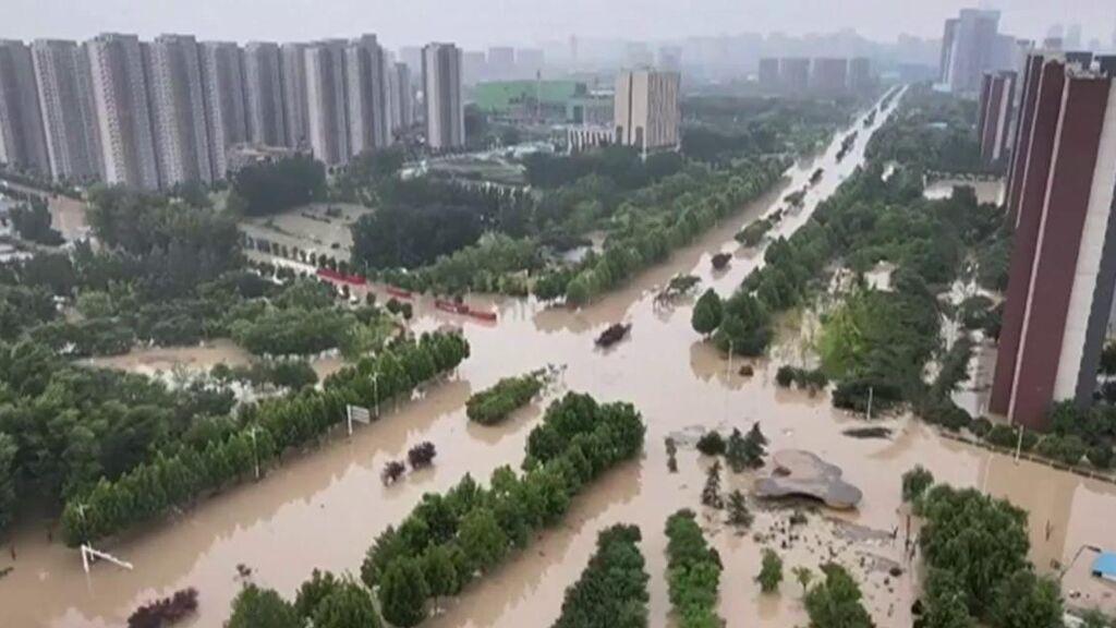 Siguen los rescates en China: las imágenes de las inundaciones
